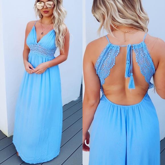 Dresses & Skirts - 🆕 ➳ Lace Me Up Maxi Dress
